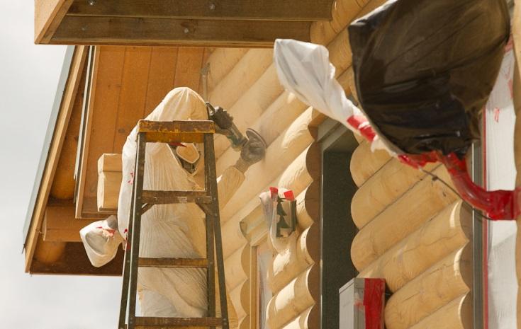 Технология герметизации швов в деревянном доме